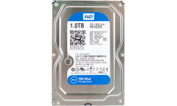 Жесткий диск Western Digital 1Tb Blue, WD10EZRZ, 3.5
